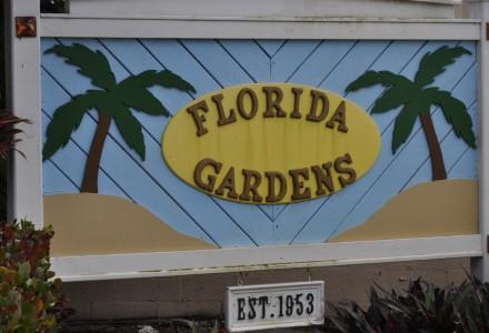 Florida Gardens Community Lake Worth Entrance