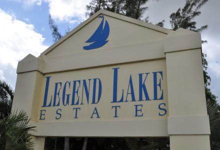 Legend Lake Estates Community Entrance