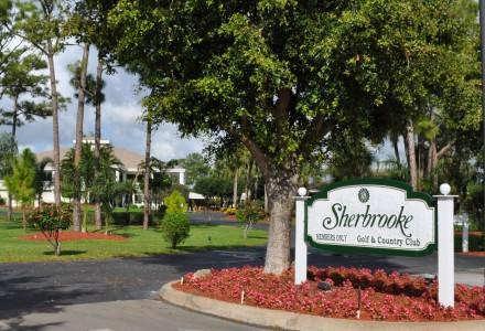 Sherbrooke Estates Community Lake Worth FL Entrance Picture