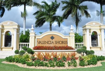 Valencia Shores Community Lake Worth FL Entrance Picture