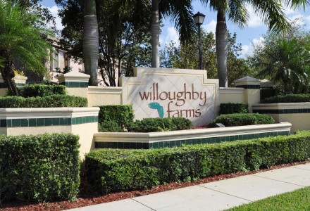 Willoughby Farms Community Lake Worth FL Entrance Picture