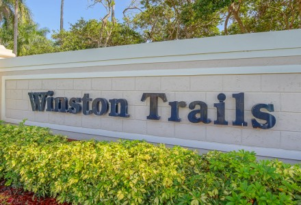 Winston Trails Community Lake Worth FL Entrance Picture