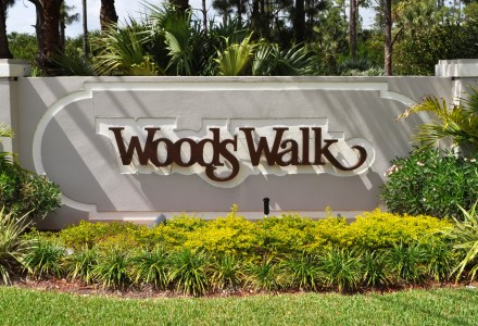 Woods Walk Community Lake Worth FL Entrance Picture