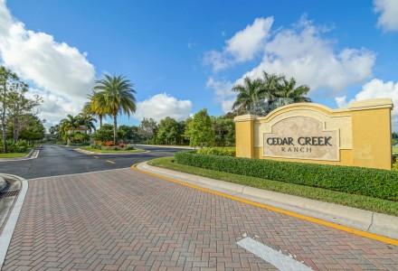 Cedar Creek Ranch Community Entrance Picture