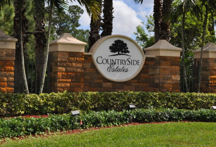 Countryside Estates Community Lake Worth FL Entrance Picture