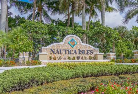 Nautica Isles Community Lake Worth FL Entrance Picture