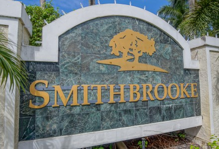 Smithbrooke Community Lake Worth FL Entrance Picture