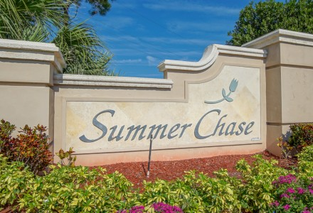 Summer Chase Community Lake Worth FL Entrance Picture