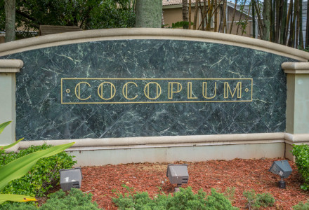 Cocoplum Community Lake Worth FL Entrance Picture