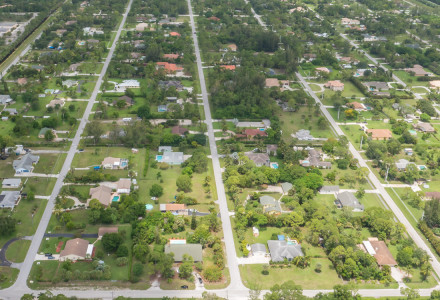 Palm Beach Ranchettes Community Aerial Picture